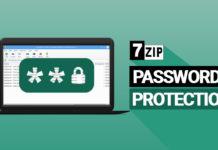7zip password protect