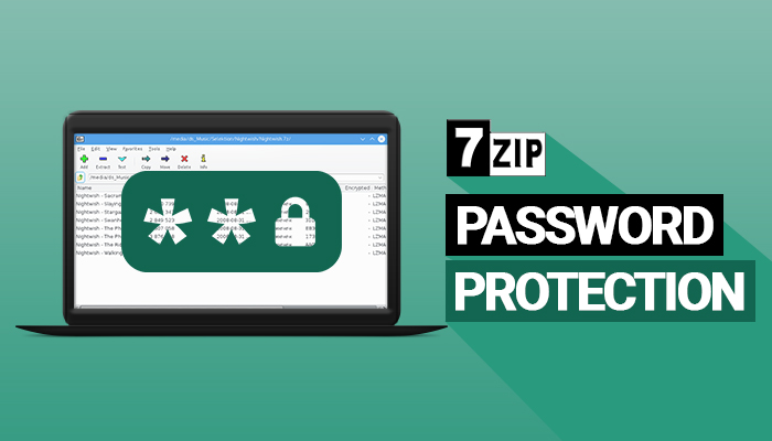 Protection par mot de passe 7zip