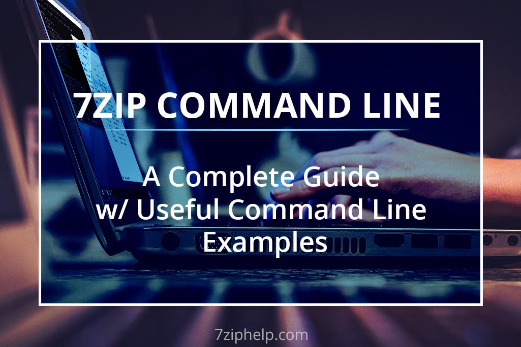Командная строка 7ZIP